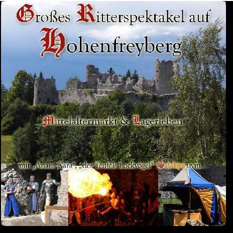 Ritterspektakel Hohenfreyberg Premium Eintrag im Mittelalterportal